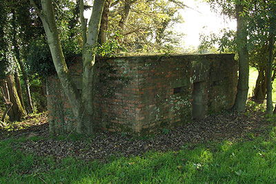 Pillbox at Barcombe Mills