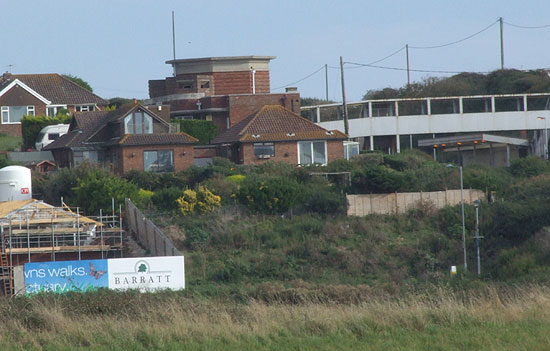 Pillbox on Bishopstone Station