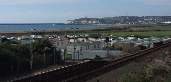 View from Bishopstone Station