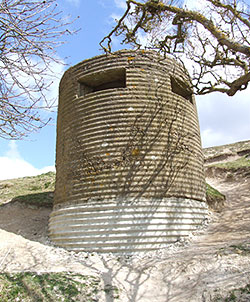 Type 25 Pillbox at Cuckmere Haven