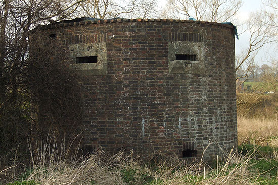 Two-storey pillbox
