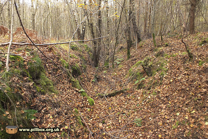 RE Training Area (1) - Roads and anti-tank ditch