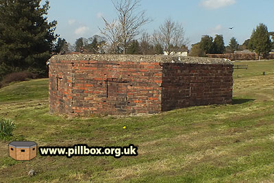 Pillbox camouflage revealed!