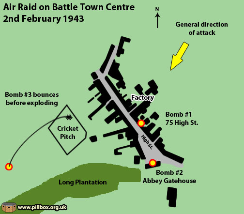 Bomb craters (11) - Battle