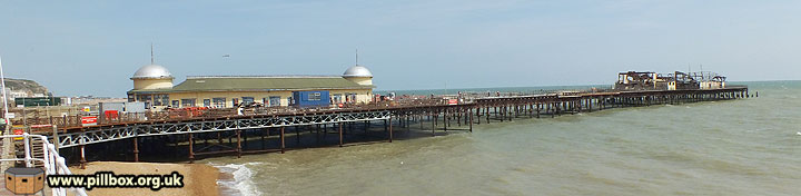 East Sussex Piers in wartime